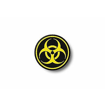 Patch Ecusson Brode Prints Thermocollant Biker Outbreak Biohazard Zombie R1