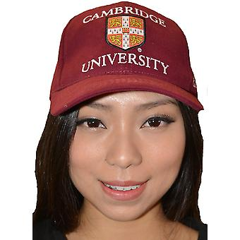 Licenseret Cambridge University™ baseball cap Maroon farve