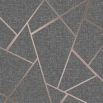 Quartz Fractal Wallpaper Fine Decor