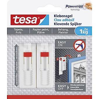tesa Tesa ® Adhesive nail adjustable White Content: 2 pc(s)