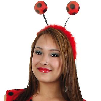 Headband Ladybug red black spotted bug insect accessory