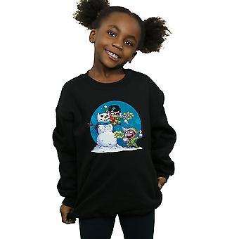 DC Comics Mädchen Super Freunde Chillin wie ein Bösewicht Sweatshirt