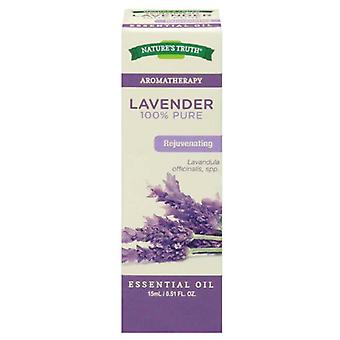 Nature's truth aromatherapy pure essential oil, lavender, 0.51 oz