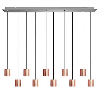 Lyra 10 Mini Pendant Lighting Copper