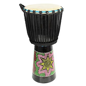 10 inch Painted Djembe