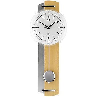 Pendulum clock radio AMS - 5244-18