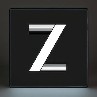 Z Alphabet Lightbox