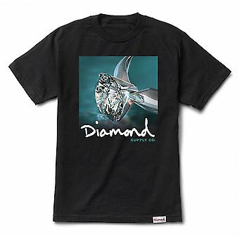 Diamond Supply Co Shimmer Tee Black