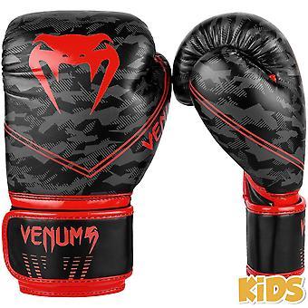 Venum Okinawa 2.0 Kids Boxing Gloves Black/Red
