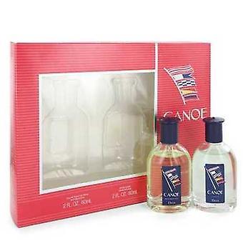 Canoe By Dana Gift Set -- 2 Oz Eau De Toilette Spray + 2 Oz After Shave (men) V728-535240