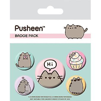 Pusheen, 5x Pins