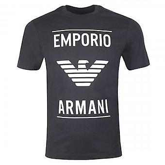 Emporio Armani Eagle Logo T-Shirt Navy Blue 6G1TE7