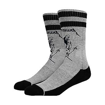 Metallica Socks Scary Guy Band Logo nouveau officiel Homme