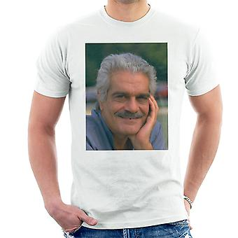 TV Times Actor Omar Sharif 1988 Men's T-Shirt