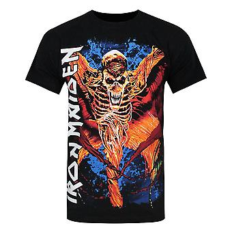 Iron Maiden Esqueleto Vampyr Men'camiseta