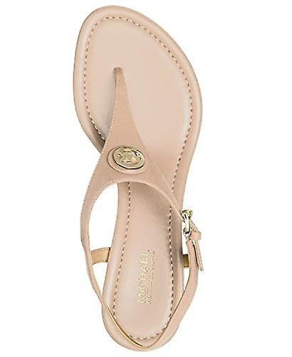 Michael Michael Kors Womens Ramona Leather Split Toe Casual Ankle Strap Sandals