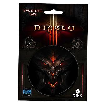 Diablo III Face Sticker