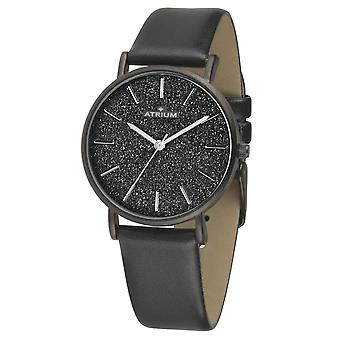 ATRIUM Women's Watch Wristwatch A35-26 black glitter dial