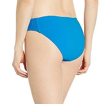 Carmen Marc Valvo Women's Bikini Bottom Swimsuit with Side Smocking Detail, W...