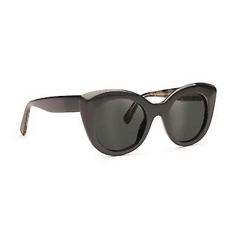 D'blanc nowoczesne okulary przeciwsłoneczne kochanka czarny