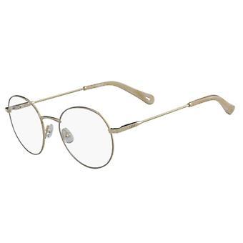 Chloe CE2136 743 Gold-Beige Glasses