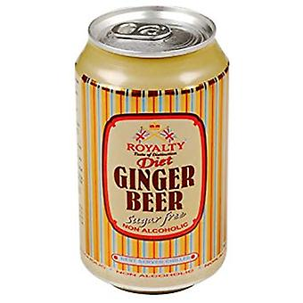 Royalty Ginger Beer Cans -( 330 Ml X 24 Lattine )