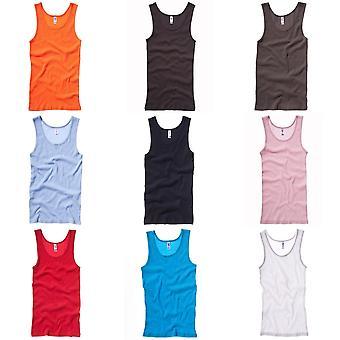 Bella + Canvas Womens/Ladies Rib Tank Vest Top
