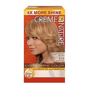 Crème of Nature Exotic Shine Colour Light Golden Blonde 9.23