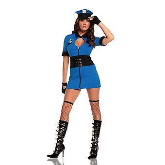 Women Intriguing Interrogator Costume