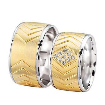 Christian wedding rings with diamonds