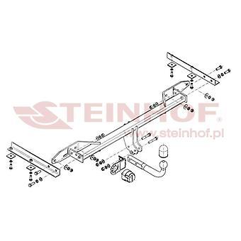Steinhof Towbar (fixiert 2 Schrauben) für Chevrolet ORLANDO 2010-2015