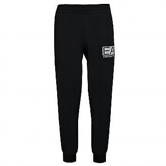 EA7 Men's Black Jogging Bottoms