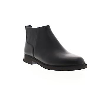 Camper Iman  Womens Black Leather Zipper Chelsea Boots