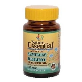 Nature Essential Flax Seed Oil 500 Mg. 50 Pearls