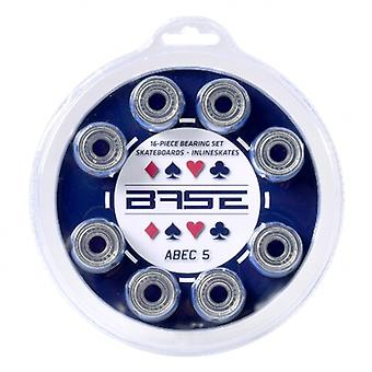 BASE ball bearings ABEC 5 - 16 blister pack