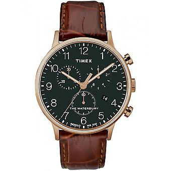 Timex miesten watch Waterbury classic chronograph 40 mm TW2R71600