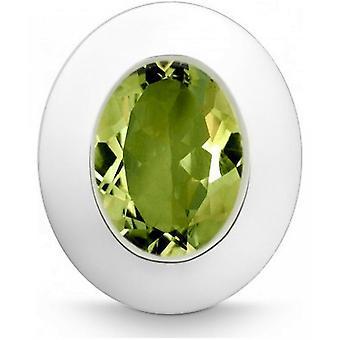 QUINN - Pendant - Women -Silver 925 - Gemstone - Peridot - 24250947