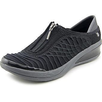 BZees Womens Fancy Low Top Zipper Fashion Sneakers