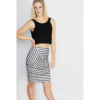 Stolen dance nautcal splice skirt
