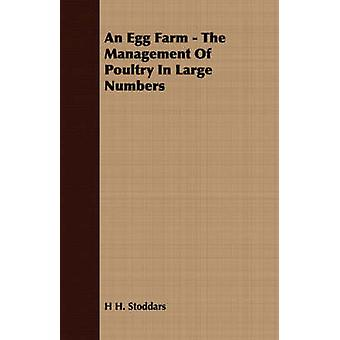 An Egg Farm  The Management Of Poultry In Large Numbers by Stoddars & H H.
