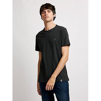 Pretty Green Mens Core Katoen T-shirt - Grijs