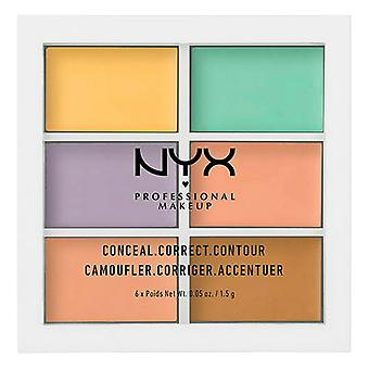 Compact Concealer Concealer NYX (6 x 1,5 g)