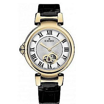 Edox kellot LaPassion Open Heart Naisten Watch Automaattinen 85025 37RC ARR