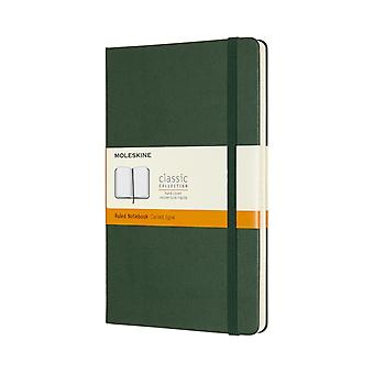 Large Ruled Myrtle Green HB Notebook