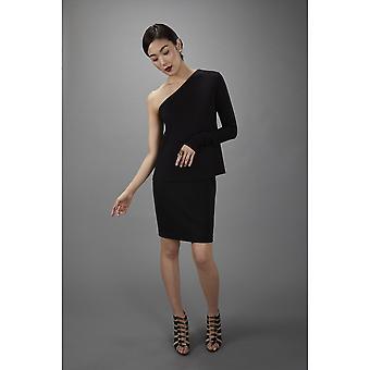 Falda de lápiz Lindsay Nicholas NY en negro
