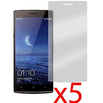 5x Screen Protector Cover Guard for Oppo Find 7