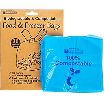 Planit Eco Friendly Freezer Bags (Pack of 30)