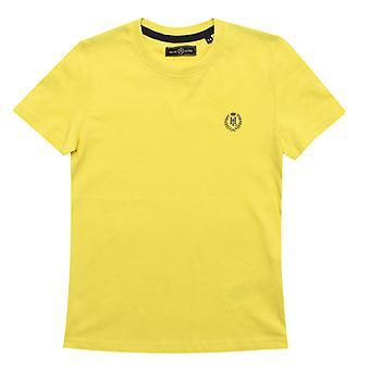 Boy's Henri Lloyd Junior Radar T-shirt in geel