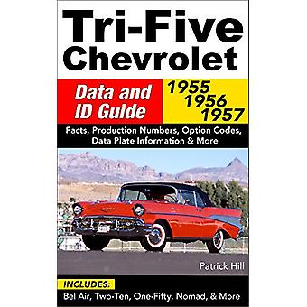 Tri-Five Chevrolet Data and ID Guide - Includes Bel Air - 210 - 150 -