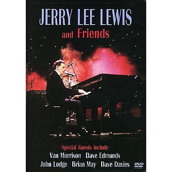 Lewis, Jerry Lee - importación de Estados Unidos Jerry Lee Lewis & Friends [DVD]